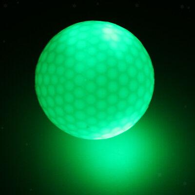 Glow In Dark Green LED Light Up Golf Ball Tournament Ball