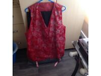 Shiny waistcoat for sale