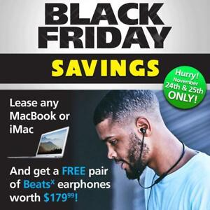 Finance Any MacBook Or iMac - Get a FREE pair of BeatX Earphones