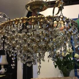 1980s retro chandelier