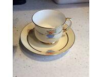 Old fashioned bone China tea set