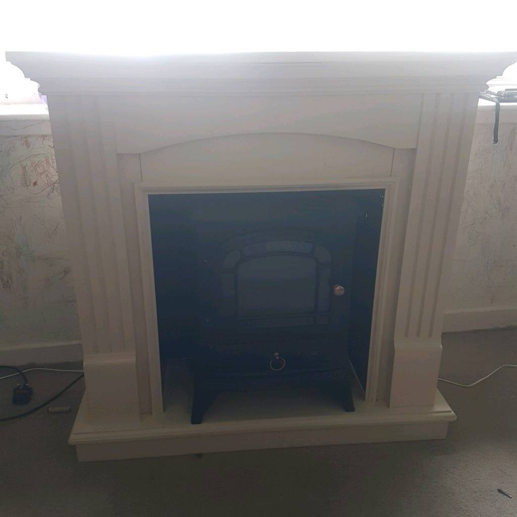 electric fire and fire place