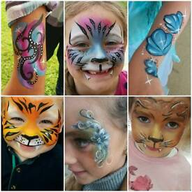 Face Painting For Hire To Accomodate All Events and Occasions by Catalyst Arts Face and Body Painter