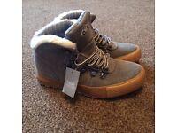 Grey Next Boots Size 11