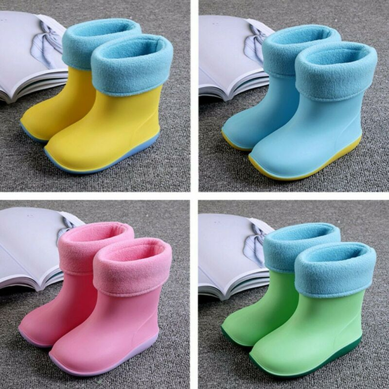 waterproof child sandals rubber infant baby rain