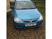 1000cc Vauxhall Corsa good clean car ideal first motor clean and reliable