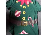 George Christmas Elf Tshirt M