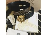 """Versace Medusa Head belt Unisex """"discounted"""""""