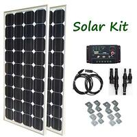 200W Solar Panel Kit controller cable for RV