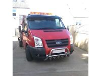 BULL BAR From Mk7 Ford Transit