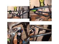 Norco Sight Carbon 2016 Frame + Extras