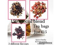 Special blend flavoured tea