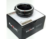 Fotodiox Pro lens mount adapter canon EF to E sony mirrorless