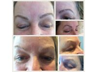 Microblading Eyebrows or Semi permanent makeup