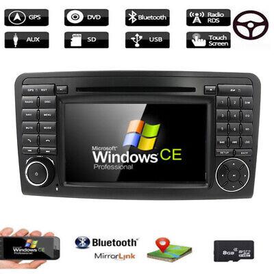 Autoradio für Mercedes Benz ML/GL-Klasse W164 X164 Navigation GPS DAB+DVD FM SWC