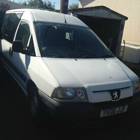 Peugeot 1868cc deisel engine Disabled wheelchair access vehcle
