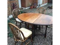 Dining table and chairs-Free delivery