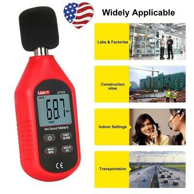 Sound Level Meter Lcd Digital Display Noise Tester Measurement 30-130db Decibel