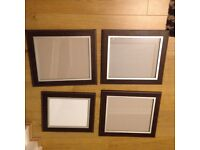 Photo frame 3 large and 1 med