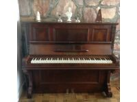 Upright piano 1910 Metzler