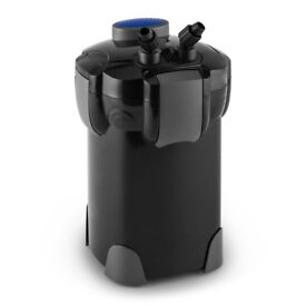 External Filter 1000lph for aquariums of up to 400 litres full set up