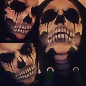 HALLOWEEN!!! Proffesional special FX makeup artist/Face Painter