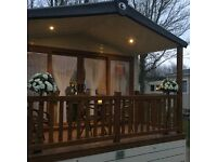HAGGERSTON CASTLE caravan hire /rent CASTLE LAKE £259 Oct 16-20th 😀