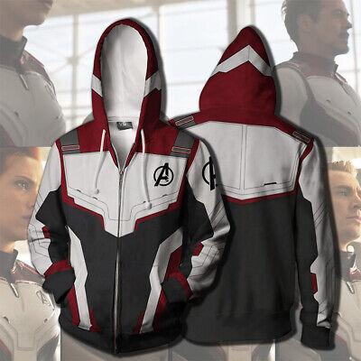 2019 Avengers Hoodie Cosplay Superhero Advanced Tech Jacket Sweatshirt Costumes (Tech Hoodie Sweatshirt)