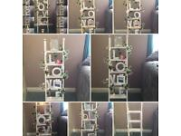 Wedding ladder with light display use only £25 accessories can be purchased also at charge