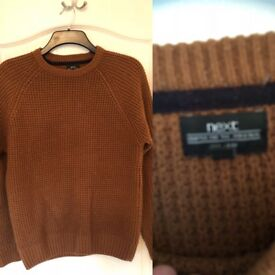 Men's jumpers, jeans & shirts