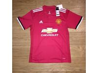 Manchester United Home Shirt S