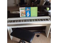 Casio privia Px-130 digital piano white wood base