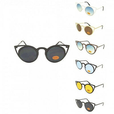 Vintage Classic Cat Eye Brille Retro Sonnenbrille 50er Jahre farben Ray640
