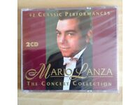 Unopened Mario Lanza The Concert Collection - 42 Classic Performances on 2 CD's
