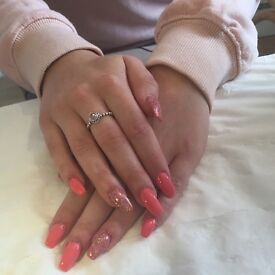 Free! Models wanted nail Extensions enhancements acrylic gel polish nails