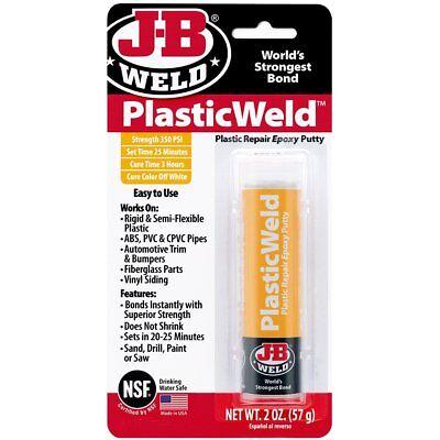JB Weld Kwik Plastik Epoxy Putty Plastic Fiberglass  KwikPlastik Repair - Jb Weld Putty