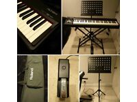 NOW ONLY £520 - Roland RD-64 Stage Piano - Accessories Included - Great Condition