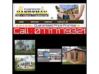 Experienced Handyman & 24hr Emergency Service