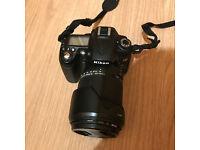 Nikon D D90 12.3MP Digital SLR Camera With Sigma 18-250mm Telephoto zoom lens