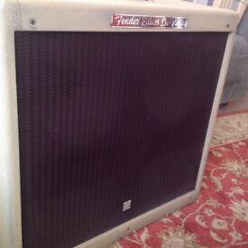 Fender Blues DeVille 4 X 10 guitar amp (rare Blonde)