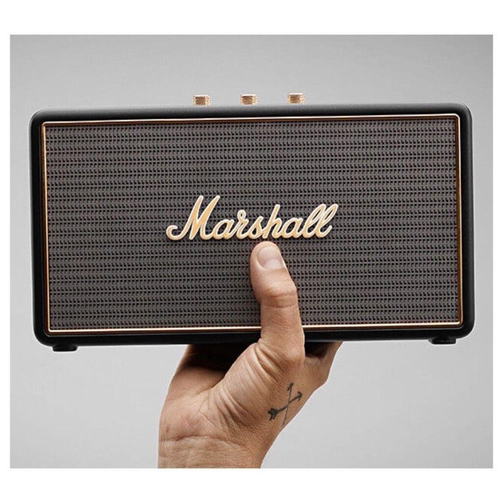 Marshall Stockwell Travel Bluetooth Speaker new