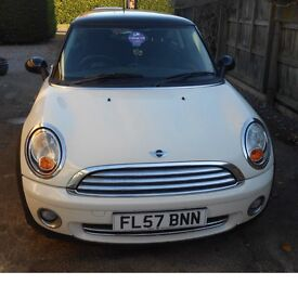 Mini Cooper 1.6 MOTD and serviced in December