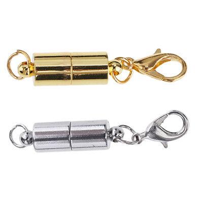 Magnetische Karabinerverschlüsse für Schmuck Halskette Bracelet 2pcs ()