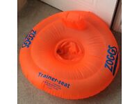 Zoggs trainer seat 3-12 Months