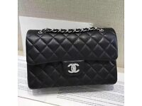 CHANEL BAG BLACK 23cm