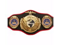 wrestling belt genuine