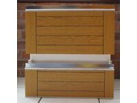 Used schreiber kitchen drawers x3 with runners. Wood effect front. 50cm wide. 20 and 27cm high