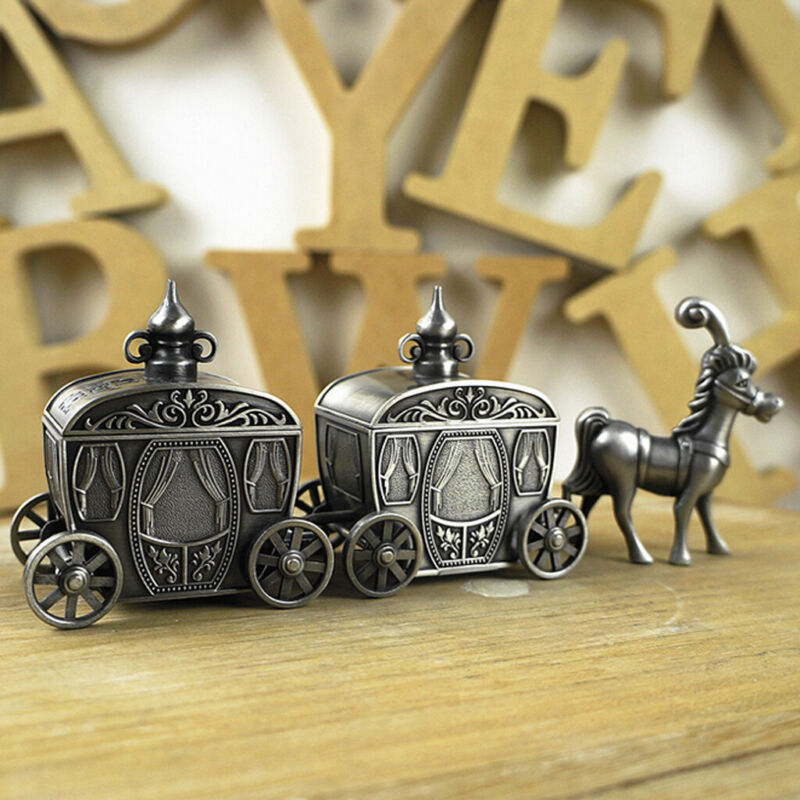 Lovely Carriage My First Tooth and Curl Box Set Baby Shower Gift Favor