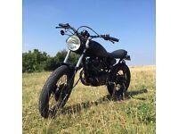 Yamaha SR250 Cafe Racer / Brat Custom