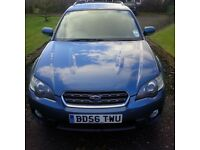 Subaru Outback Estate, 12 months MOT, winter tyres and towbar fitted, set of summer tyres included